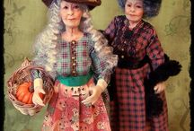 My 1:12 scale witches / Witches for dollhouses