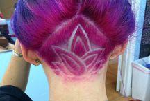 hair tattoo