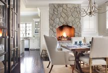 Carrie McCall Design - Dining Rooms / Dining rooms designed by CKM Home Design