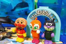 アンパンマンおもちゃアニメ❤スプラッシュ水族館で遊ぼう!の巻 Anpanman toys