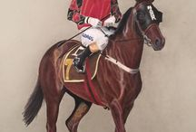 Horses In Art- Australian and ROTW racing scenes / Non-European and Non-North American racing scenes