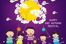 mid autum festivals/ Happy Lantern
