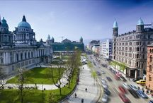 Giro d'Italia - Day 1 (Team Time Trial) / The first stage of the Giro d'Italia 2014 will start in #Belfast, Northern Ireland. Day 1 is the Team Time Trial Route, discover the iconic Belfast landmarks that appear along this exciting route.