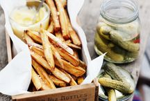homemade chips + crisps