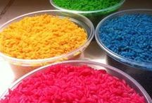 rice colouring