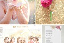 Pink & Gold Wedding / by Elna Hamp