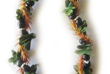 Leis for Men / Masculine Hawaiian leis, popular with the guys!