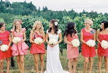 Be My Bridesmaid / Bridesmaids dresses have come a long way. Follow our board for bridesmaid dress ideas, trends and stunning styles. Beautiful color trends that you will love.