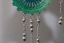 crotchet jewellery