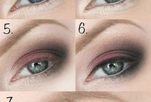 Maquillage yeux tons chauds