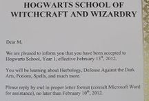 Homeschool unit - Harry Potter / Harry Potter unit study ideas