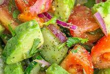 Salads mango