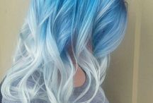 Színes haj