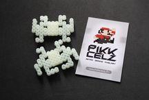 Pikkcelz Phosphorescents / Créations en pixelart