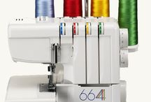 664 / 664 Pro / So Cool! Hemming skirts or sewing stretch fabrics seem to you so difficult? Not with Elna 664 / 664 Pro.