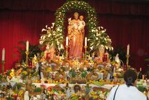 St. Joseph's Altars / by Confessions of a Glitter Addict