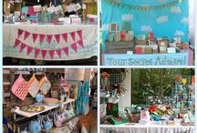 craft show display inspiration / I am constantly thinking about how to create an atmosphere of fairyland and whimsy in my booth.. / by Kimberly Sherrod