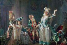Michel Garnier, painting 1780 - 1799