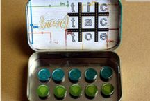 altoid boxes / by Lisa Landry