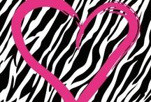 Pink and Zebra <3