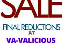 VA-VALICIOUS  FINAL  REDUCTIONS / VA-VALICIOUS WEBSITE REDUCTIONS!