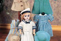 Bleuette poupées et bambino