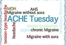 ACHE Tuesday Migraine & Headache Info / Weekly information about Migraine and other Headache Disorders from the American Headache Society's Committee for Headache Education