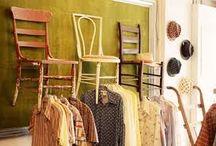 Vintage shop design