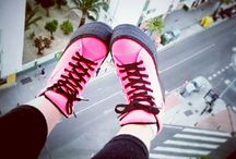 C50 Taller Neon Pink / http://www.maxstarstore.com/maxstar-shoes/sneakers/maxstar-c50-taller-insole-black-platform-sneakers-neon-pink
