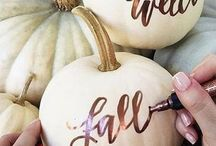 Pumpkins at weddings
