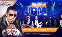 Spring Jam - March 6, 2015 / Feat. Keith Sweat, Ginuwine, Dru Hill, Jon B, and hosted by Slick Rick