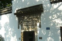 Guo Zhuang Of Hangzhou / Guo Zhuang is characterized by its handmade gates and windows with different shapes built by thousands of bricks. What makes you feel so special about this buildings which is  full of cultural atmosphere is you can  capture the different views through different frames.