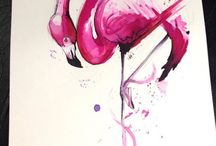 For the love of flamingos