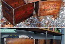 wood crate ideas