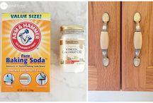 Čistenie skriniek-soda+cocos.olej.
