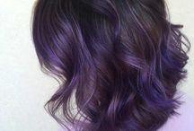 Purple ... hair & everything