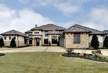 Couto Custom Home - Catalina Bay Subdivision - Granbury, Texas / Couto Custom Home in Catalina Bay Subdivision This home is Mediterranian on the exterior and Transitional on the interior.  High end amenities, soothing paint colors, swimming pool, outdoor grill and gorgeous personal touches.