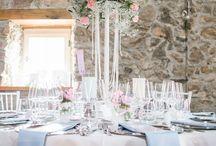 Wedding Dinner Freiburg 2016 / Hochzeitsmesse war gestern... Die Grundidee hinter dem Wedding Dinner: 5 Bankett-Tische zu unterschiedlichen Farbthemen und Stilen dekoriert.  www.facebook.com/weddingdinnerfreiburg