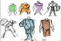 Body Types / A collection of reference material for body types to be used for inspiration and concept art.