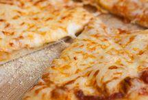 pizza queso y especies