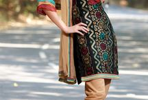 Punjabi style suits