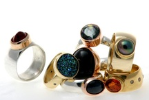 rings and jewels / Alot of this work is made by me