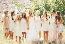 Bridesmaids/flower girls dresses