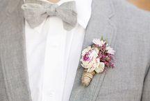 Bräutigam ~ Groom / Anzug, Smoking, Hochzeitsanzug, Anstecker und mehr
