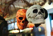 Decoração de Halloween / Ideias e inspiração para um Halloween bem assustador e decorado...
