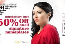 50 % Off on all Signature Jewelry / Get 50% off on Signature Jewelry