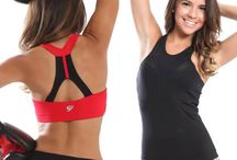 Sexy Fitness Tops / Check our diferent styles of tops for high and low impact. Made in Supplex Material.  Beautiful styles with Sexy open back designs. Print tops also available