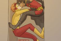 robin x kid flash