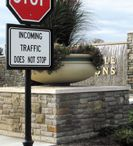 Decorative Traffic Sign Poles / Forsite is your number one source for decorative traffic poles and wayfinding signs. Our items are made with the highest quality materials and require minimal maintenance. Shop with us today by browsing our selection or contact us with any questions you may have.