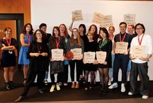 Craft The Leather-Le Cuir Paris 2014 / 10 students from 10 of the world's renowned Design institutes, present their personal accessory collections, in which they have transformed that grand traditional material – Veg-tanned leather, with vibrant imagination.